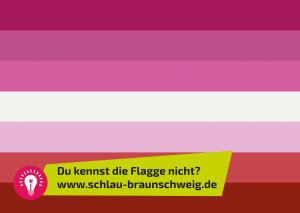 BISEXUALITÄT FLAGGE